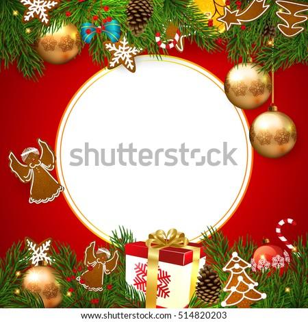 Christmas. Background Christmas vector.