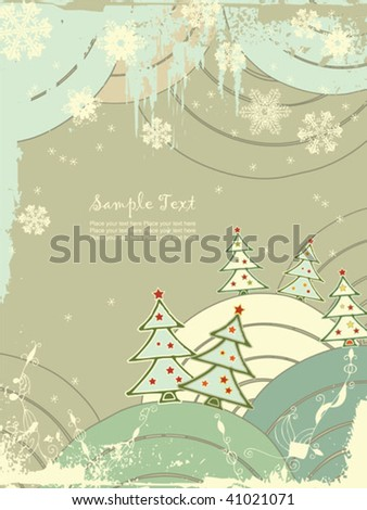 christmas background easy to