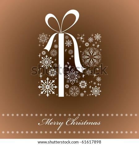 Christmas Background. Illustration.