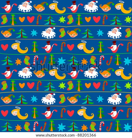 Christmas background, New Year's wallpapers, wrapping paper