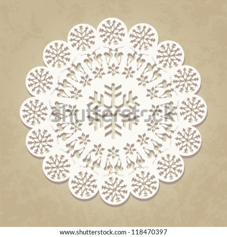 Christmas background / ornament / vector illustration