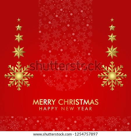 Christmas background template elegant looking for invitation card gift and other #1254757897