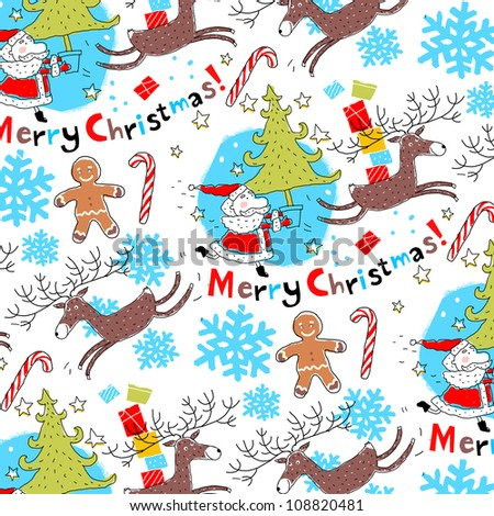Christmas background vector�  - stock vector