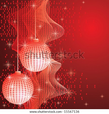 Christmas Background Vector #15567136