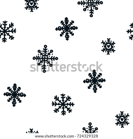 stock-vector-christmas-background-vector-pattern-xmas-seamless-pattern-with-snowflakes-black-and-white
