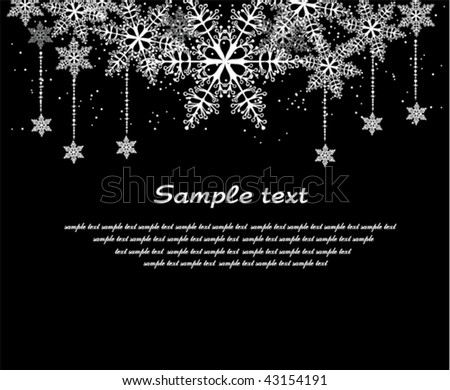 Christmas background with space for text
