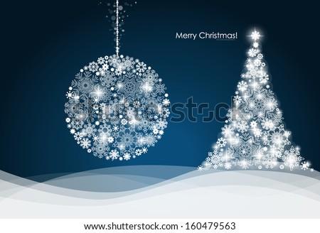 christmas ball and christmas