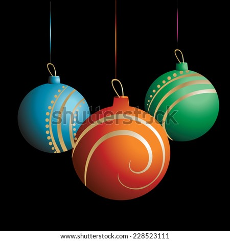Christmas ball- Vector