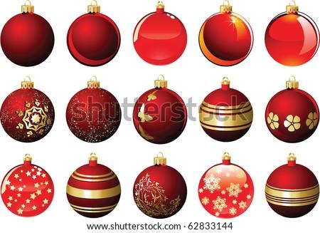 Stock Photo Christmas balls