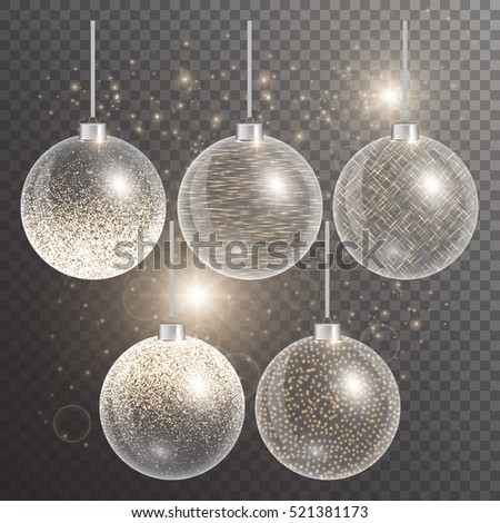 christmas balls hanging new