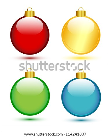stock-vector-christmas-balls-on-white-red-gold-green-blue