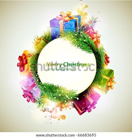 Christmas banner. - stock vector
