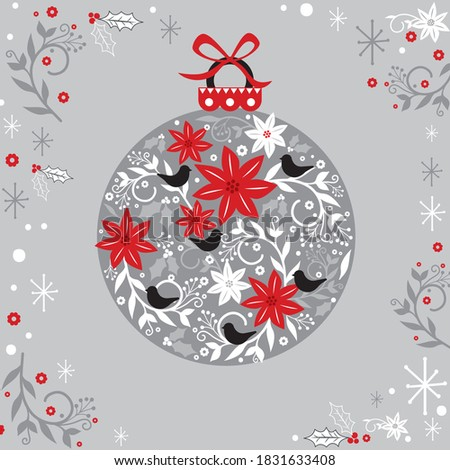 christmas bauble decoration