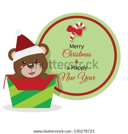 christmas bear icon