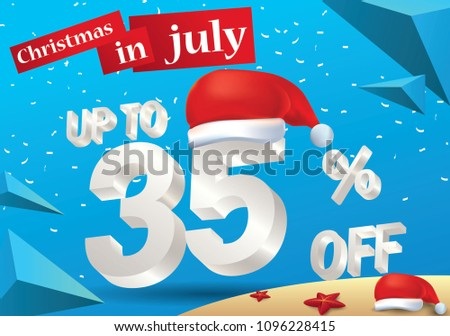 christmas biggest sale in july