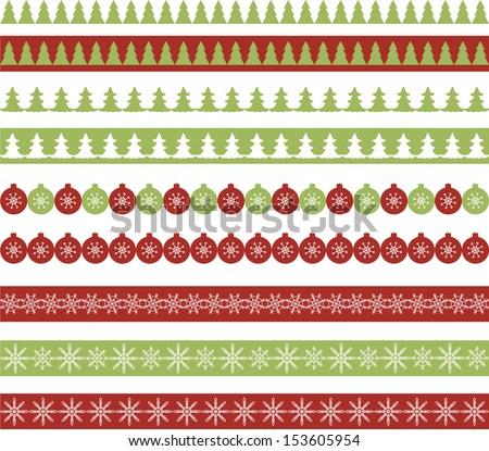 stock-vector-christmas-borders