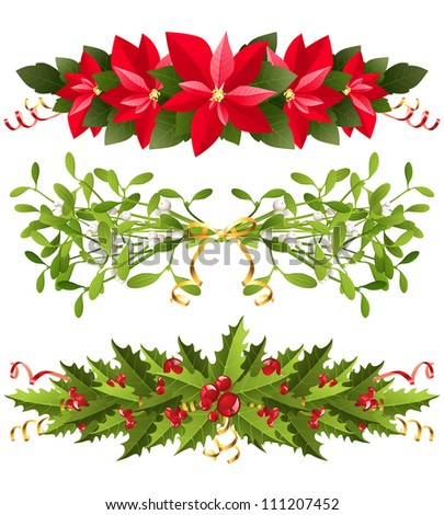 christmas borders with