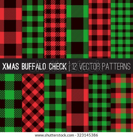 christmas buffalo check plaid