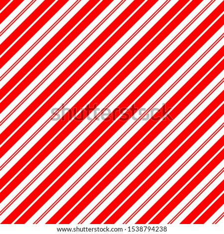 christmas candy cane stripes