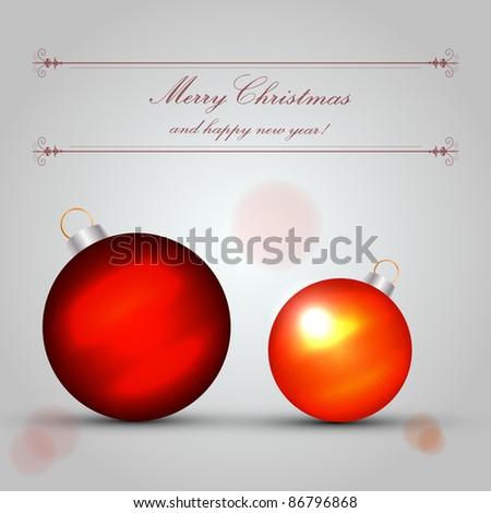 Christmas Card - Vector Design