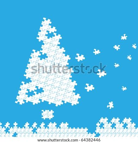Christmas card. vector 10 eps