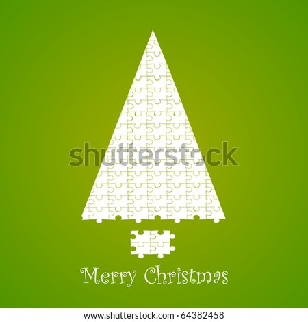 Christmas card. Vector 10 eps.