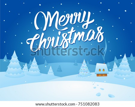 Stock Photo Christmas Card Vector Illustration