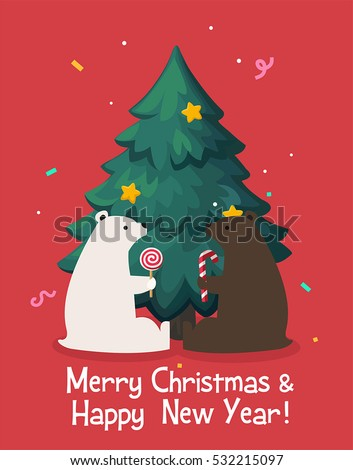 christmas card which shows a