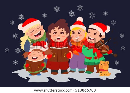 christmas carols for children's choirs clip