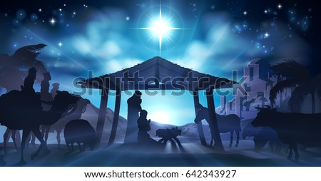 christmas christian nativity
