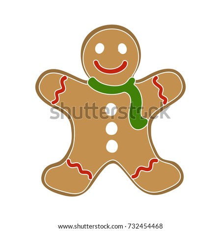 christmas cookie icon
