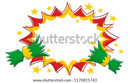 Christmas Cracker Vector.Pulled Christmas Cracker Free Vector Art 4 Free Downloads