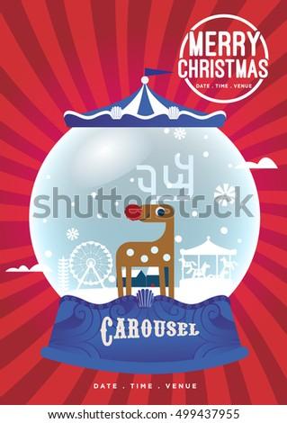 christmas crystal globe design