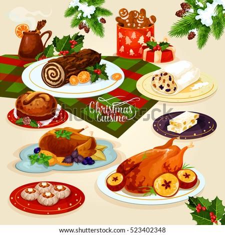 christmas cuisine festive