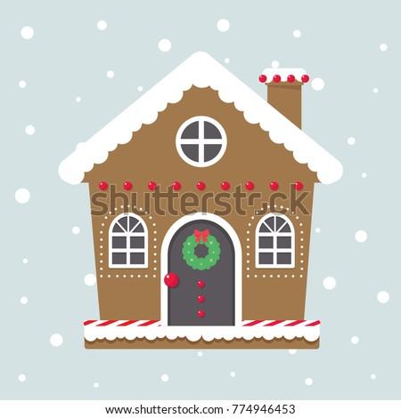 christmas cute house