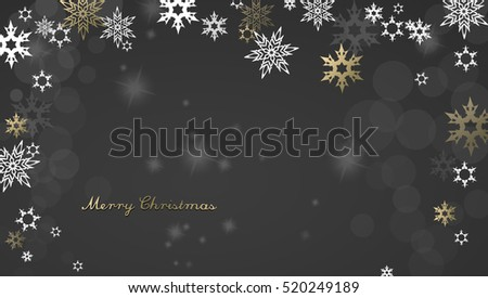 christmas dark background with