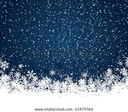 Christmas decoration background with space for text - stock vector