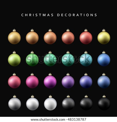 christmas decoration balls
