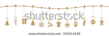 christmas decoration elements