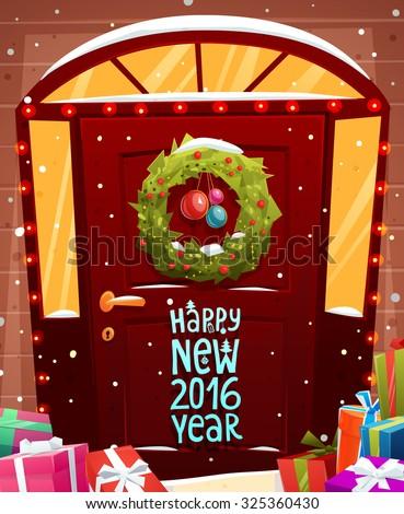 christmas door decoration xmas