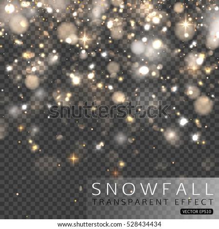 christmas falling snowflakes