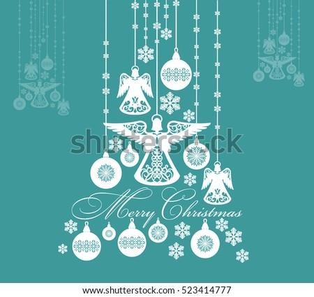 christmas festive abstract