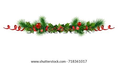 christmas festive poinsettia...
