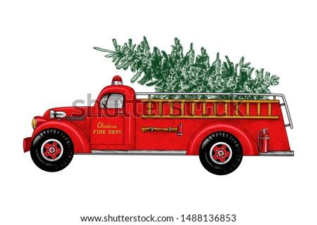 Firetruck Cartoon Fire Truck Clipart Fire Truck Png Stunning Free Transparent Png Clipart Images Free Download