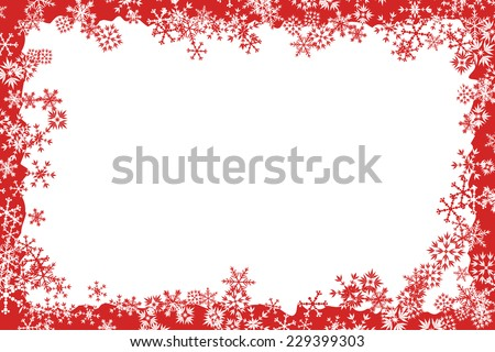 Winter Snow Frames - Download Free Vector Art, Stock Graphics & Images