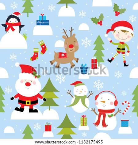 christmas fun pattern