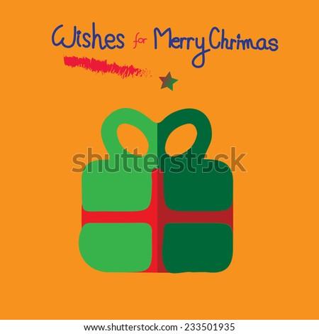Christmas gift card  #233501935