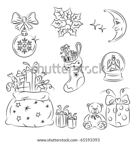 Christmas Gifts - stock vector