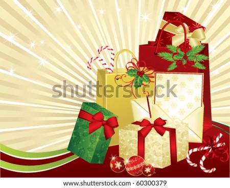 Christmas Gifts, vector
