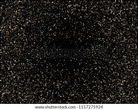 christmas glitter sparkles gold new year frame border background magic sparkling cosmic pattern